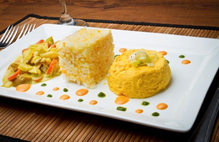 Flan de arroz y atún