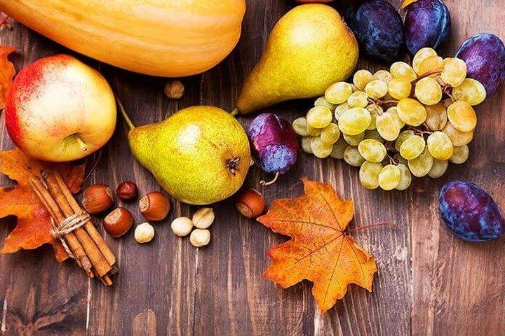 Qué frutas encontramos en otoño