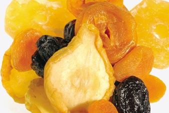 Frutas desecadas: una elección saludable