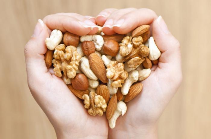 Frutos secos para el colesterol