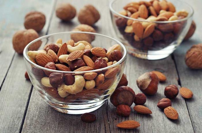 Frutos secos contra el colesterol