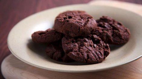 Receta de galletas de doble chocolate