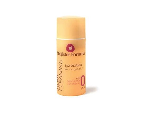 Gel crema exfoliante facial con ácido glicólico de Magister Formula