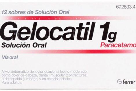 Gelocatil: qué es, para qué sirve y efectos secundarios