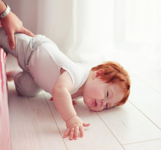 Traumatismos craneales en bebes y niños