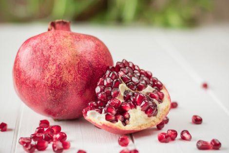 Granadas: rica en vitaminas y minerales