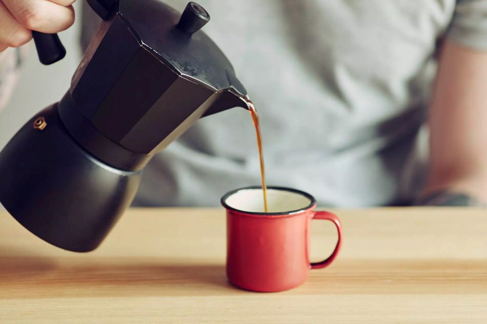 Receta para hacer café con cafetera italiana