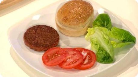 Crean la primera hamburguesa de laboratorio