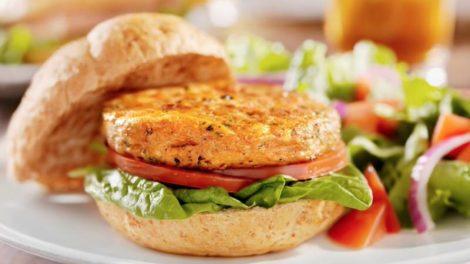 Cómo hacer una deliciosa hamburguesa vegetal