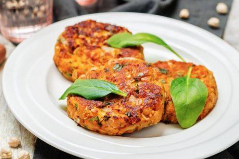 Hamburguesas de garbanzos: receta casera deliciosa