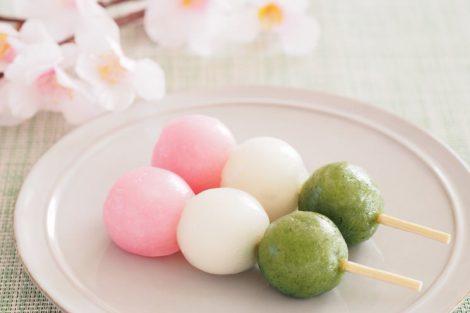 Bolitas dulces de arroz (Hanami dango): receta de Japón