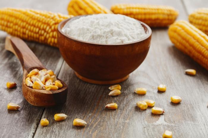 Harina de maiz para la piel
