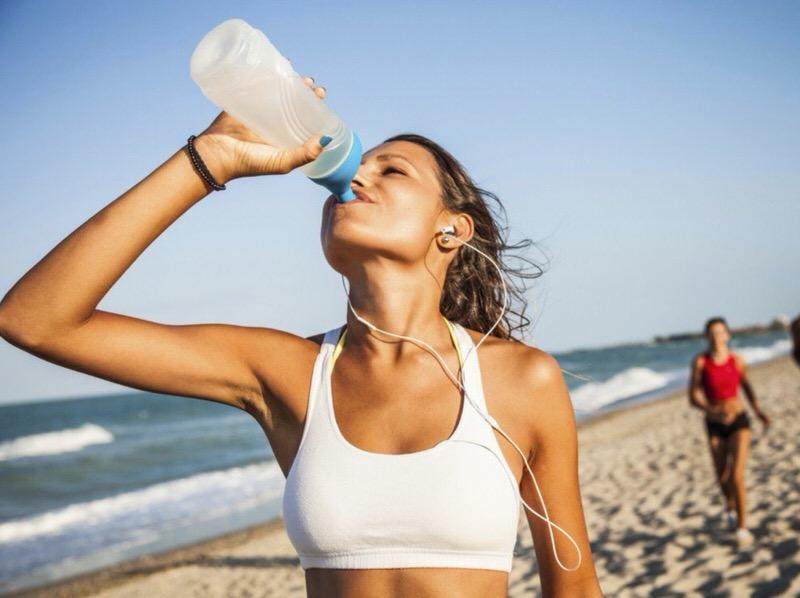 La hidratación en verano