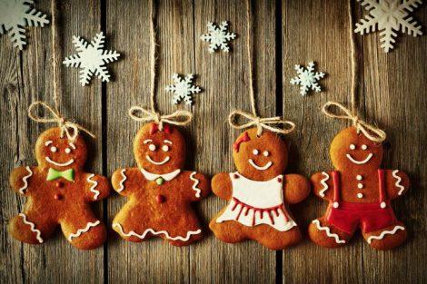 Hombrecitos de jengibre: las tradicionales galletas navideñas