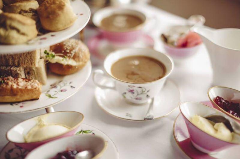 La hora del té británica