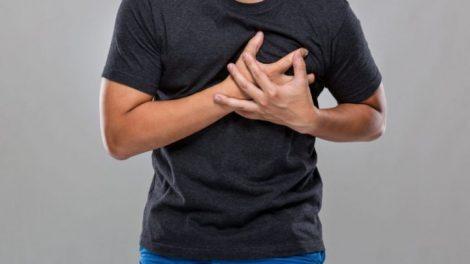 Infarto de miocardio en el hombre
