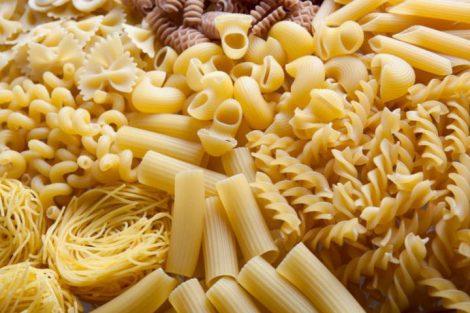 Conoce los valores nutricionales de la pasta