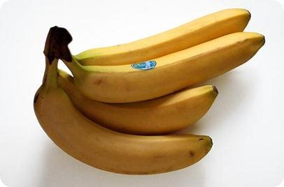 Información nutricional del plátano