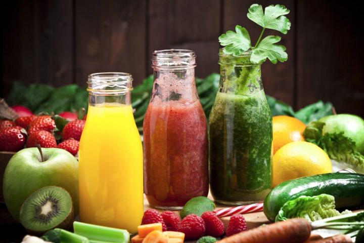 Información nutricional de los zumos