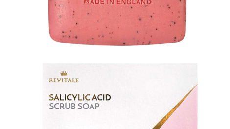 Jabón exfoliante de Revitale con ácido salicílico