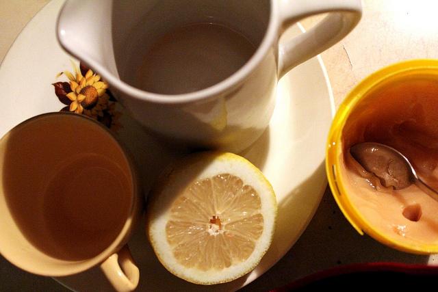 Propiedades del jarabe de limón y miel