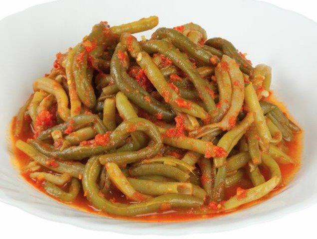 Receta de judías verdes con tomate