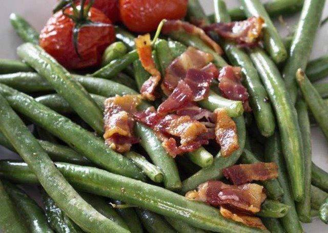 Receta de judías verdes con jamón serrano
