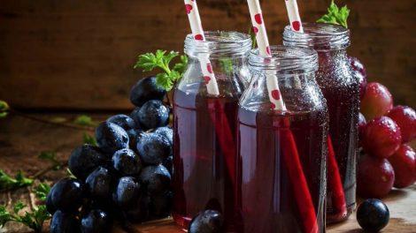 Kéfir de zumo de uva