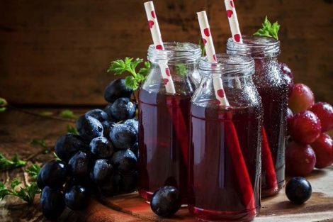 Kéfir de zumo de uva: receta para hacer en casa y beneficios
