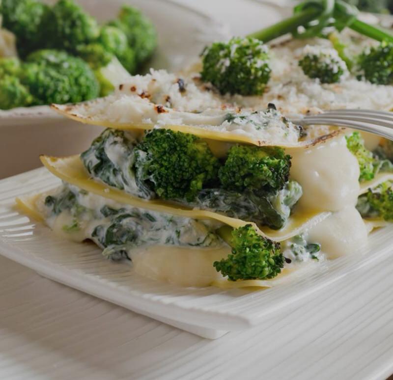 Cómo hacer una lasaña vegetariana de brócoli
