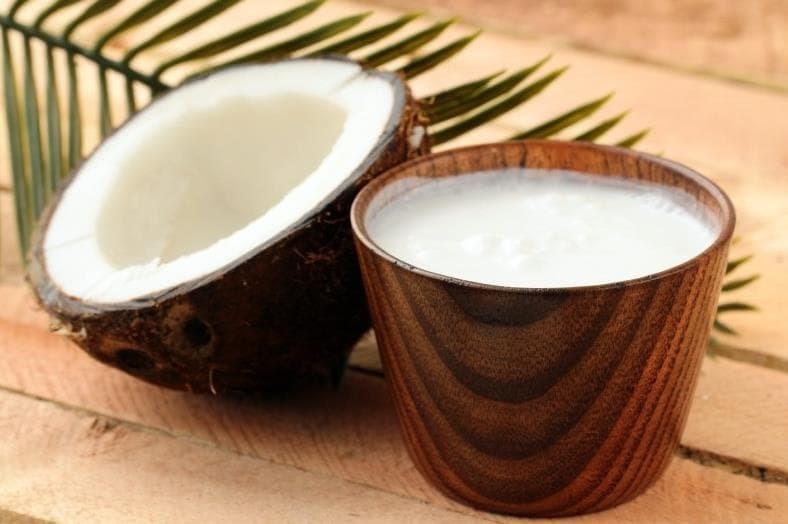 Los beneficios de la leche de coco