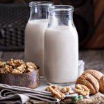 Leche de nueces: beneficios maravillosos, receta y cualidades