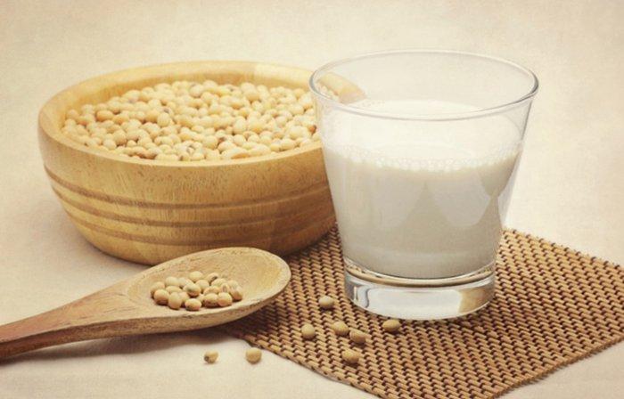 Leche de soja contra el colesterol