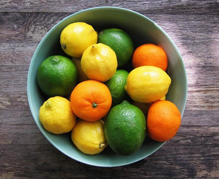 Limón y naranjas, ricas en vitamina C