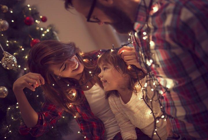 Luces de Navidad para el arbol