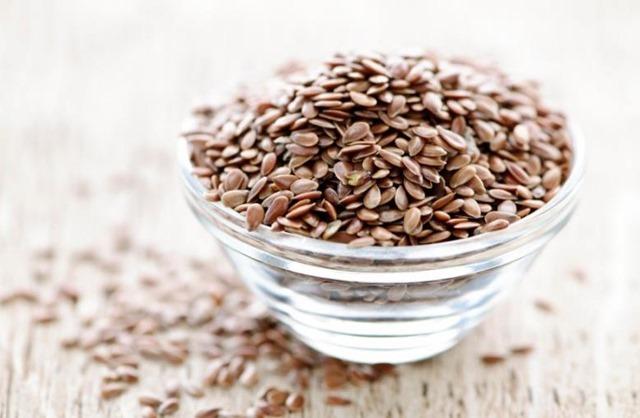 Maceración de semillas de lino