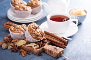 Magdalenas de jengibre, almendras y pistacho: receta exquisita