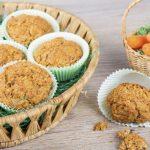 Magdalenas con nueces y zanahoria: receta fácil y sencilla