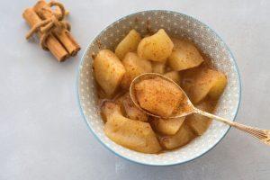 Receta de manzana con canela