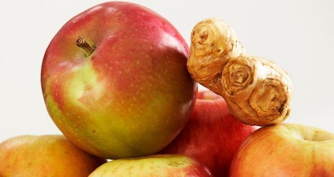 manzana-jengibre