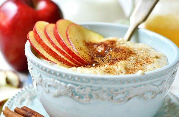 manzana-y-avena-al-horno-receta