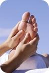 Masajear los pies