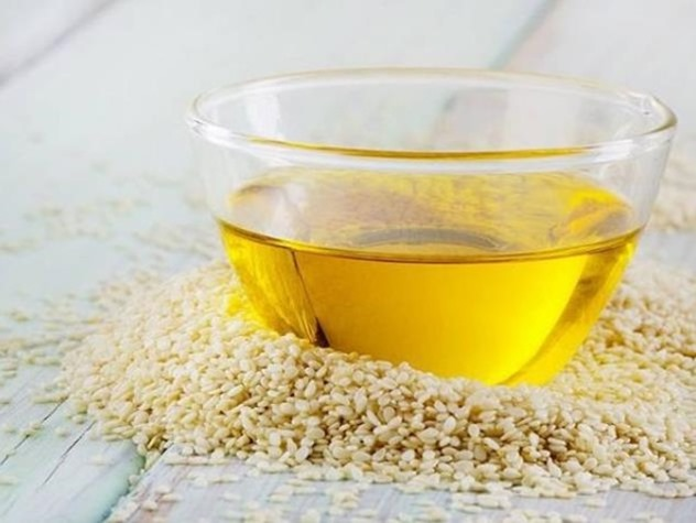Mascarilla de aceite de sesamo para la piel