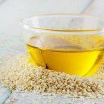 Mascarilla de aceite de sésamo para la piel