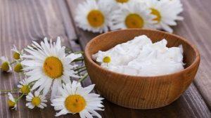 Receta de mascarilla de yogur