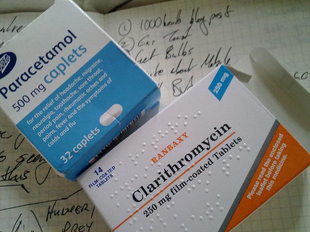 Medicamentos recomendados en caso de gripe