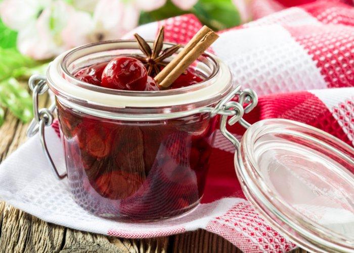 Mermelada de cerezas