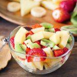 Mezclar las frutas ¿es adecuado? ¿Y en una macedonia?