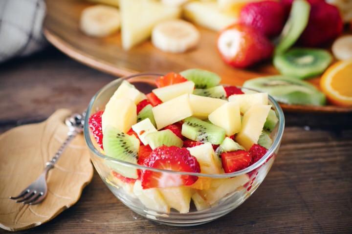 Mezclar frutas