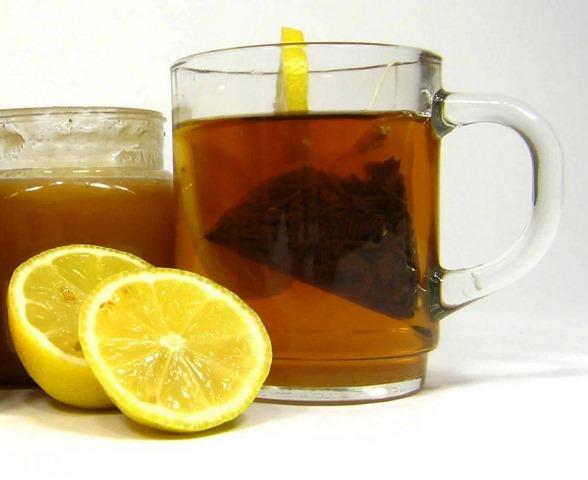 Remedio de miel y limón